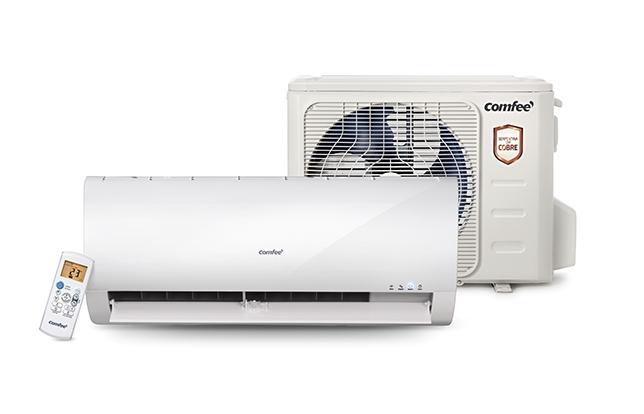 Novo Split Comfee vem com três modos de operação - refrigeração, ventilação e desumidificação